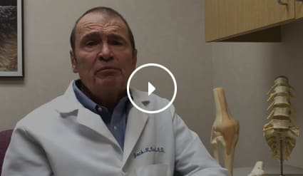 Dr. Bert explains his approach balancing surgical and non-surgical medical treatments