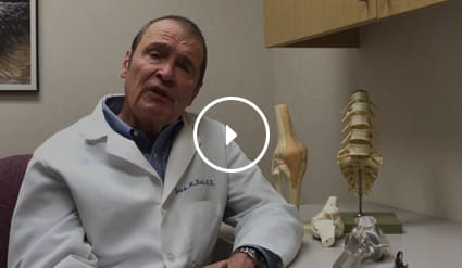 Stem cells with orthopedic surgeon Jack Bert